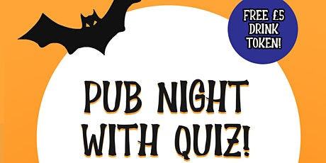 Pub Night with Quiz! tickets