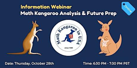 U.S. Math Kangaroo Analysis & Future Prep Information Webinar tickets