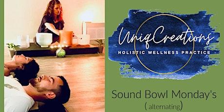 Sound Bowl Monday's- Uniq Creations tickets