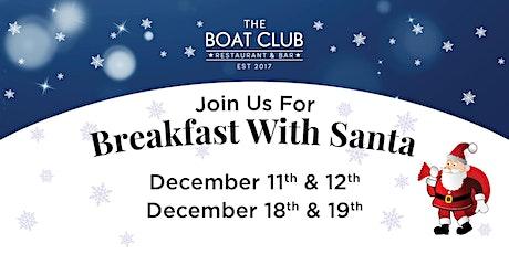 Breakfast with Santa (Dec 11th, 12th, 18th & 19th) tickets
