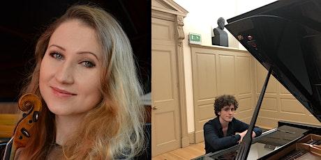 Mozart, Beethoven,  Ysaÿe, Franck: works for violin and piano tickets