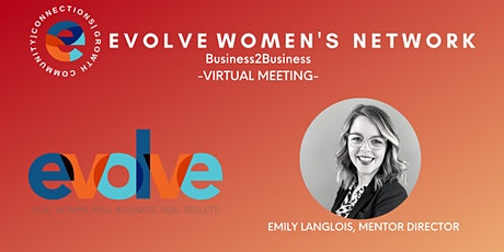 Evolve Women's Network: National B2B (Virtual) tickets