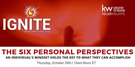 The 6 Personal Perspectives - Final Regional Ignite Class - OPEN TO ALL! tickets