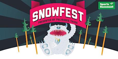 SnowFest 2021 at Sports Basement Stonestown tickets