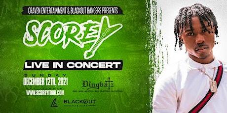 Scorey - Clifton, New Jersey Concert tickets