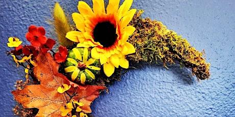 ONLINE make a Crescent Moon Wreath! tickets