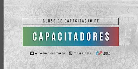 CCCJ - Curso de Capacitação de Capacitadores JUAD em Brasília/DF ingressos