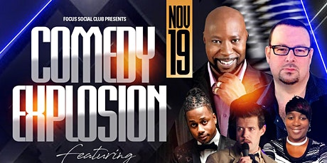 Comedy Explosion at Focus Social Club feat AG White and Kenny Williams tickets