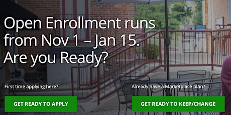 Get Signed up for Health Insurance! tickets