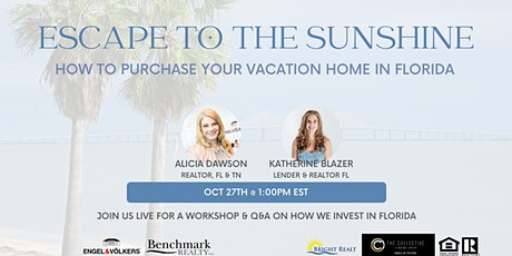 Escape to the Sunshine: How to purchase your vacation home in Florida tickets