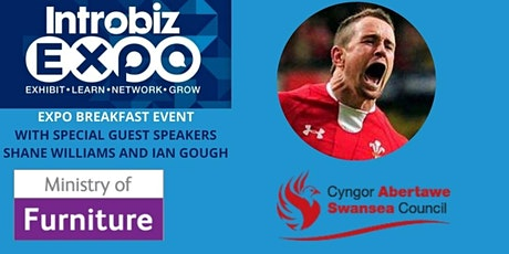 Introbiz Swansea and West Wales Expo Breakfast with Shane Williams MBE tickets