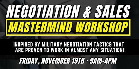 Negotiation & Sales Mastermind Workshop tickets