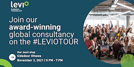 The Levio Tour • Business + IT Recruitment • Sidedoor Ottawa tickets