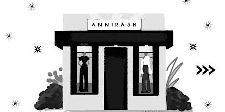 Noche Annirash / El arte de ser mujer en tiempos actuales entradas