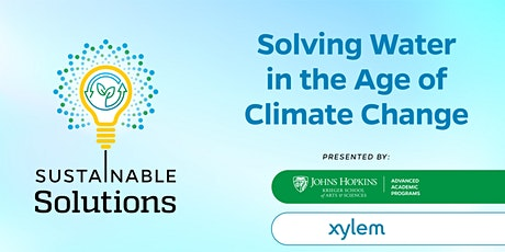 Sustainable Solutions - October 2021 tickets