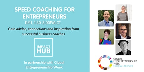 Speed Coaching for Entrepreneurs tickets