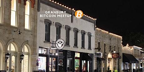 Granbury Bitcoin Meetup tickets