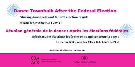 Dance Townhall | Réunion générale de la danse tickets