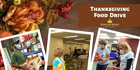 King of Kings Thanksgiving Food Drive Volunteer Sign up tickets