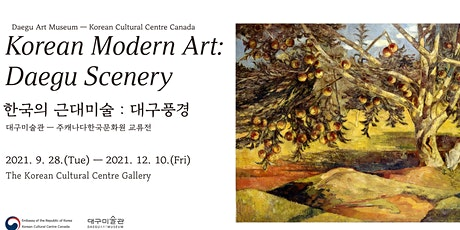 Korean Modern Art: Daegu Scenery tickets