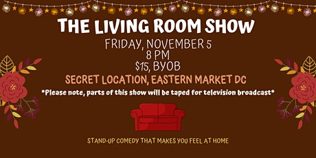 The Living Room Comedy Show tickets