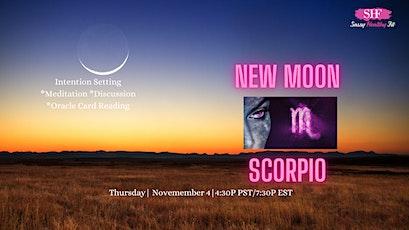 New Moon in Scorpio- Spiritual Circle [FREE] tickets