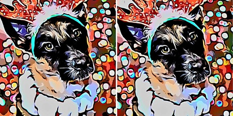 Holiday Pet  Portrait Pop Art Workshop tickets