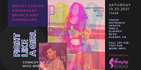 """""""Fight Like A Girl"""" Breast Cancer Awareness Brunch and Fundraiser tickets"""