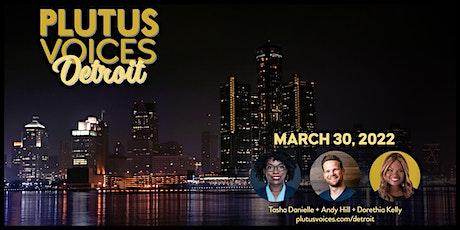 Plutus Voices Detroit: Entrepreneurship and Your Values tickets