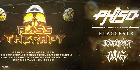 Bass Therapy w/ Phiso, Glasspvck, & More! tickets