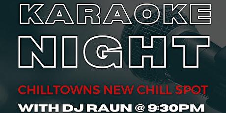 KARAOKE with DJ RAUN & HOSPITALITY NIGHT at JSQ LOUNGE tickets