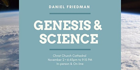 Genesis & Science on the Origins of the Universe and Life tickets