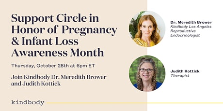 Support Circle in Honor of Pregnancy and Infant Loss Awareness Month tickets