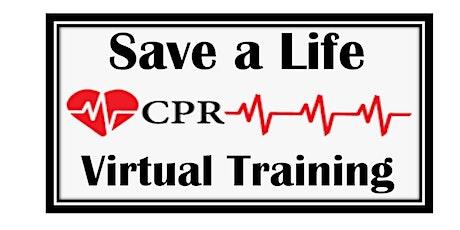 Virtual CPR Presentation tickets