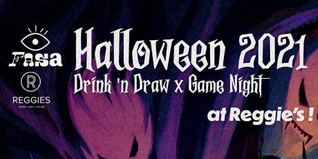 FASA Spooky Mixer: Drink 'n Draw x Game Night tickets