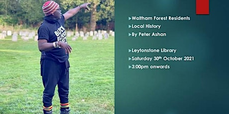 Local Black History Talk By Peter Ashan @ Leytonstone Library tickets