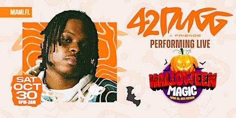 "Halloween Magic ""Music & Arts Festival"" 42 DUGG Performing Live! tickets"