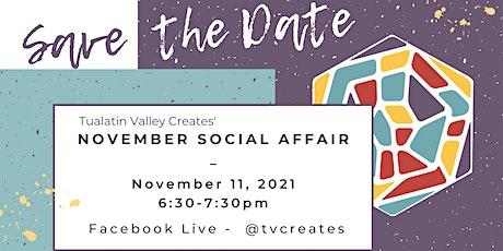 November Social Affair tickets