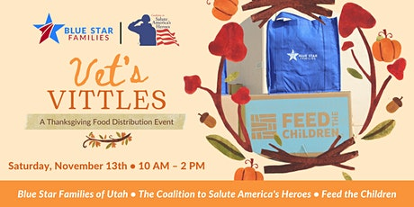 Vet's Vittles: A Thanksgiving Food Distribution Event tickets