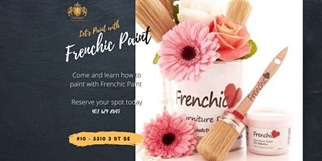Lets Paint with Frenchic Paint tickets
