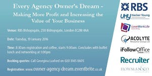 Every Agency Owner's Dream -  Making more Profit and...