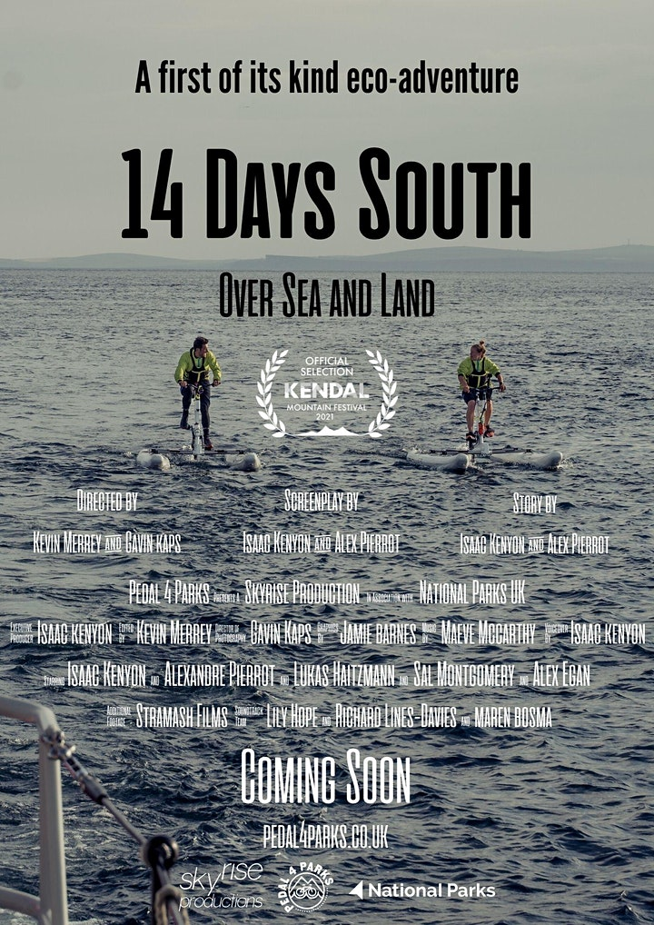 14 Days South: Over Sea and Land Documentary Premiere image