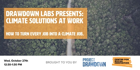 Climate Solutions at Work tickets