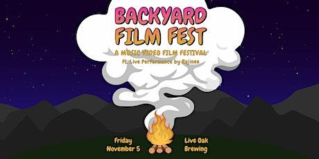 Backyard Film Fest tickets