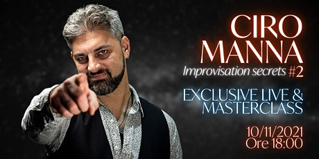 Ciro Manna Streaming Masterclass + Live Session tickets