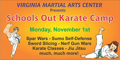 Schools Out Karate Camp tickets