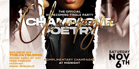 Champagne Poetry - VSUHC21 Alumni Finale 21+ tickets