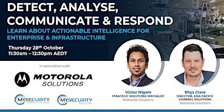 Security & Safety Reimagined for Enterprise & Infrastructure biglietti