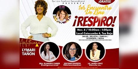 ¡Respiro! - 1er Encuentro De Lino tickets