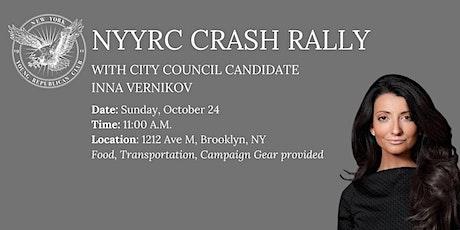 Brooklyn Crash Rally with City Council Candidate Inna Vernikov tickets